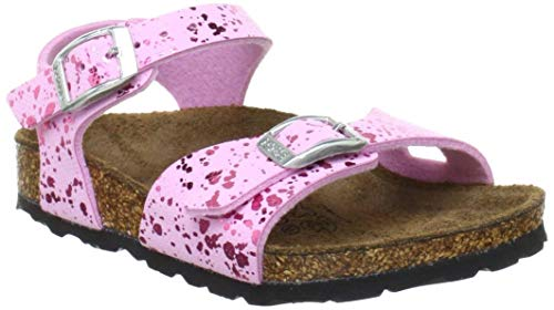 Birkenstock Tuvalu Sandals, Glitter Hologram Pink, 9 M US Little Kid