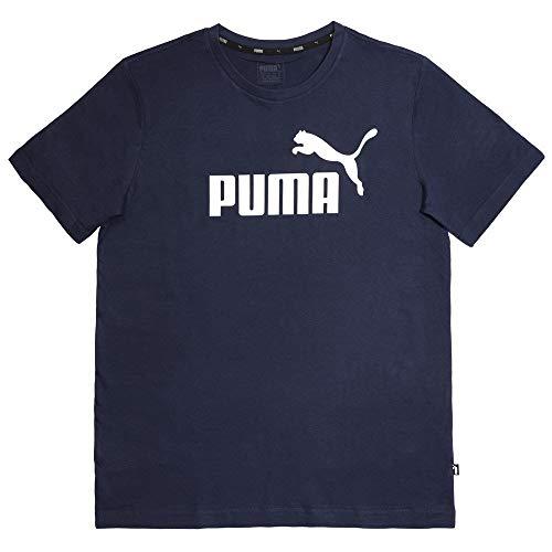 Bleu Ess T shirt Logo Homme S Puma aUYwqA1vU