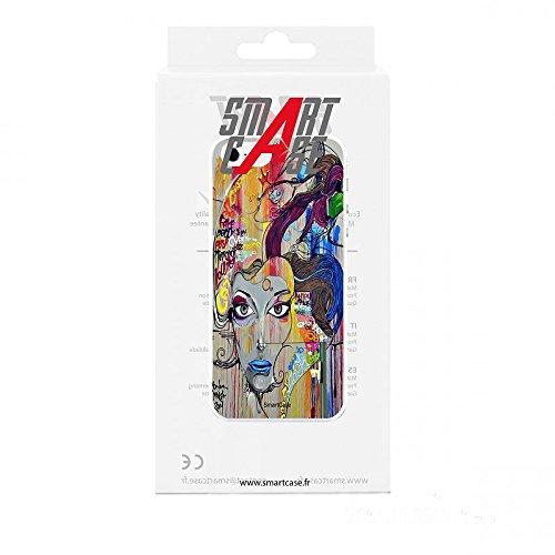 Coque + Verre Trempé pour iPhone 5/5S/SE SmartCase® STREET ART 3