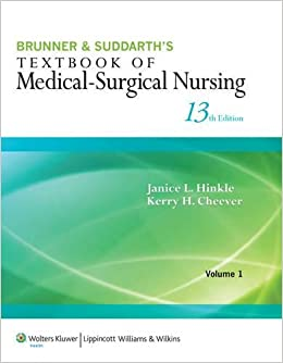 Brunner & Suddarth's Textbook of Medical-Surgical Nursing 2 Volume Set 13e plus Study Guide Package