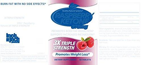 Healthy Natural Systems Raspberry Ketone 3X Triple Strength by Healthy Natural Systems (Image #3)
