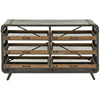 Deco 79 14843 Metal Wood Console Table, 49 x 31