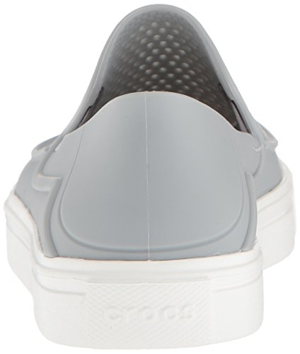 Crocs Grey Roka Light Slip Kids Citilane White On rn1qwrzx8