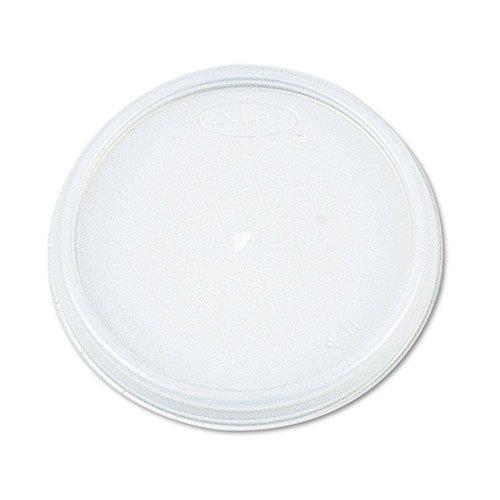 Dart® Plastic Lids, for 8 oz. Hot/Cold Foam Cups, Vented, 1,000 Lids/Carton