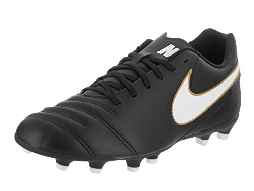 8 Us D Rio Soccer Men's Black Fg m Nike 5 white Cleat Iii Tiempo wqROaTz