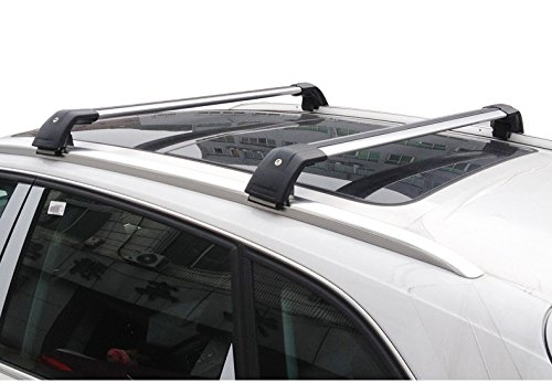 cross bar fit for vw volkswagen tiguan 2011 2016 roof rack. Black Bedroom Furniture Sets. Home Design Ideas