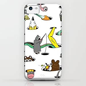 Society6 - Holes iPhone & iPod Case by SteveOramA