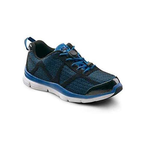 Dr. Comfort Jason Men's Therapeutic Extra Depth Athletic Shoe: Blue 10.5 Wide (E/2E)
