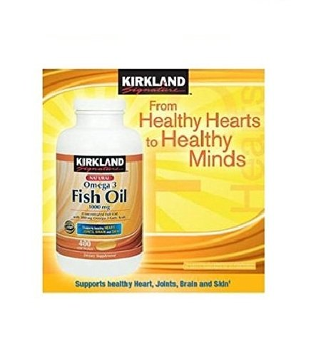 Kirkland Signature Natural Fish Oil Concentrate with Omega-3