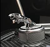 Tacraft JG-LB42 3D Gear Metal Luxury Shift Knob Ring Cover Emblem Badge Fit For Jaguar F-Pace XF XJ XE