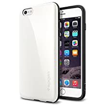 Spigen Capella iPhone 6 Plus Case with Advanced Shock Absorption Bumper Case for Apple iPhone 6S Plus / iPhone 6 Plus - Shimmery White