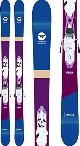 Rossignol Trixie Skis w/Xpress 10 Bindings White/Sparkle Womens Sz 168cm