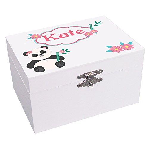 Panda Jewelry Box - MyBambino Personalized Panda Bear Ballerina Musical Jewelry Box