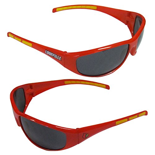 t Wrap Sunglasses-UVA and UVB Protection-Many Teams! (Louisville Cardinals) (Michigan Wolverines Sunglasses)
