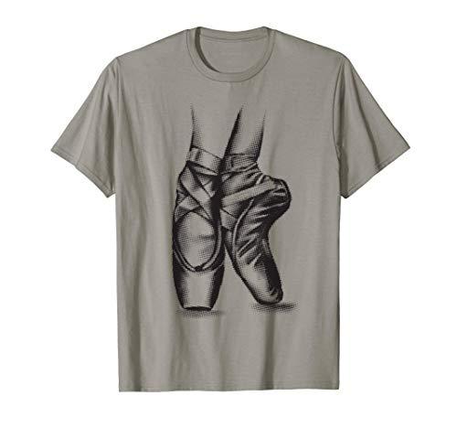 Ballerina Ballet Shoes Shirt | Cool Toe Dancing T-shirt Gift