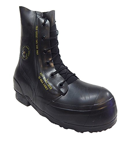 Extreme Cold Weather Water-proof Rubber Combat Boots