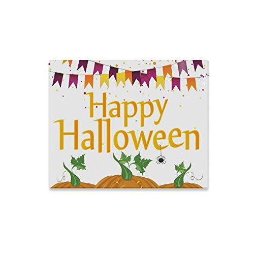 Wall Art Painting Halloween Carnival Flags Garlands Pumpkins Prints On Canvas The Picture Landscape Pictures Oil for Home Modern Decoration Print Decor for Living -
