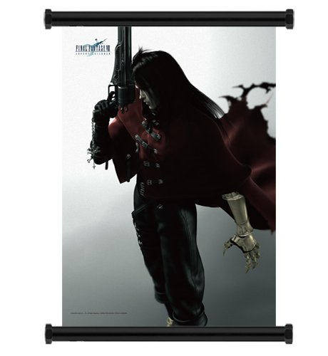Final Fantasy VII 7 Advent Children Fabric Wall Scroll Poster (16