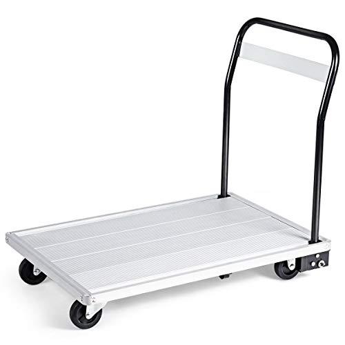 Goplus Folding Aluminum Platform