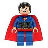 LEGO Kids' 9005701 Super Heroes Superman Alarm Clock