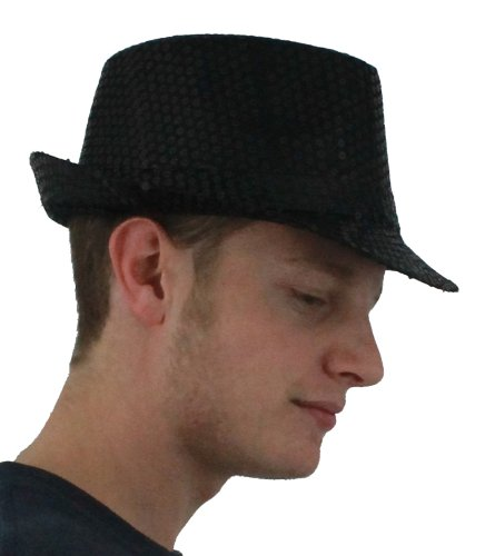 Men's 12 X Trilby Hat Fancy Dress Accessory Fedora Hats Bulk for $<!--$41.99-->