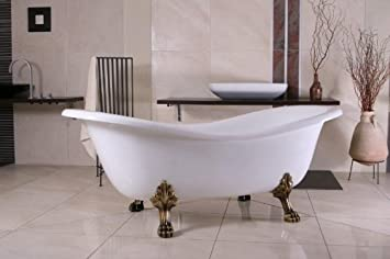 Casa Padrino Freistehende Luxus Badewanne Jugendstil Paris Weiß ...