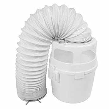 First4spares 4ft Vent Hose Condenser Bucket Wall Mount Kit for Indesit Tumble Dryers (White)  sc 1 st  Amazon UK & First4spares 4ft Vent Hose Condenser Bucket Wall Mount Kit for ...