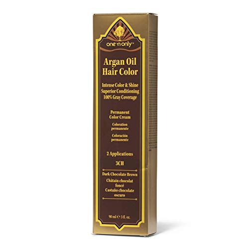 One 'n Only 3CH Dark Chocolate Brown Permanent Hair Color Cream 3CH Dark Chocolate Brown