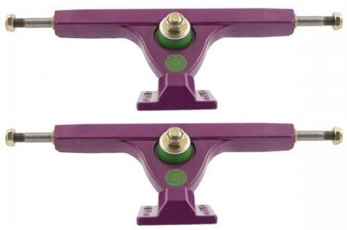Caliber Purple Funk 180mm 44 Degree Downhill Longboard Skateboard Trucks (1 Pair)