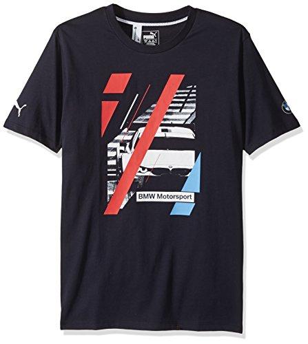 PUMA Men's BMW Motorsport Graphic T-Shirt, Team Blue, XL