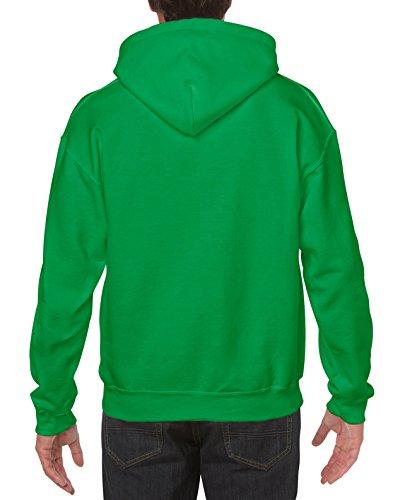 Verde Irlandés Gruesa Unisex Heavyweight Capucha De Modelo Dryblend Sudadera 13 colores Gildan Con TFnxwPwq
