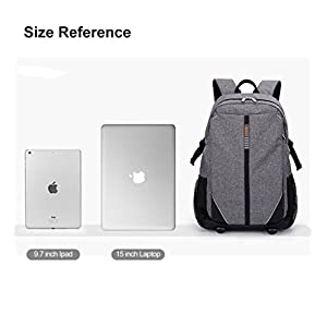 Tom Clovers Business Casual water Resistant Laptop Backpack 15 Inch Laptop Schoolbag Travel Unisex