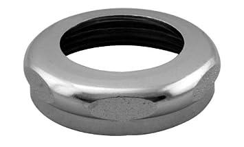 "Westbrass D426-06 1-1//2/"" Brass Slip Joint Nut Antique Brass"
