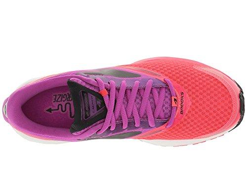 480f9cb1d74 Brooks Women s Launch 4 Purple Cactus Flower Diva Pink Black Athletic Shoe