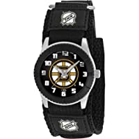 "Game Time Unisex NHL-ROB-BOS ""Rookie Black"" Watch - Boston Bruins"