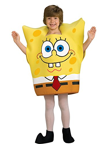 SpongeBob Squarepants Child's Costume, Medium -