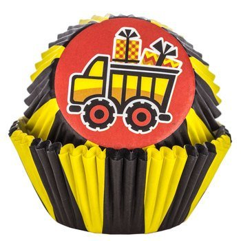 Construction Party Cupcake Liners Birthday Party Baking Cups 50 Ct.