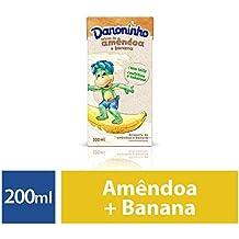 Bebida vegetal sem lactose amêndoa e banana Danoninho 200ml