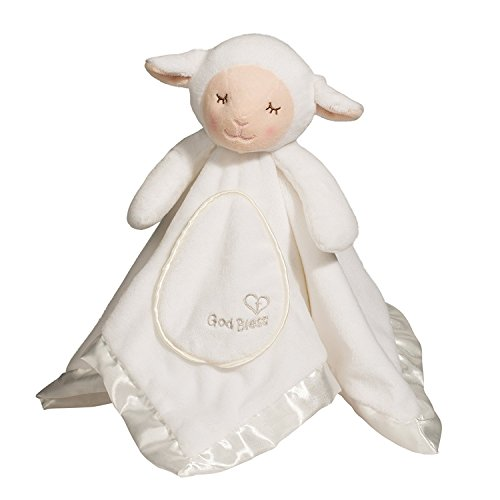 Douglas Baby God Bless Lamb Lil' Snuggler ()