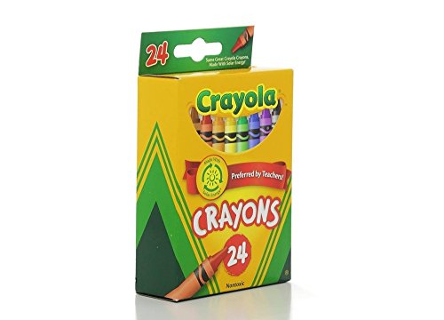 Crayola Crayons 24 ct (Pack of 2)