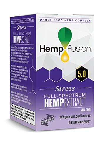 HempFusion Stress, Whole Food Hemp Complex, 30 Vegetarian Liquid Capsules Review