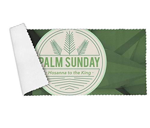 Palm Set Sunday (Floowyerion Highly Absorbent Bar Towels & Napkins Towels Palm Sunday Hosanna to The King Vector Kitchen Dish Towel Set of 3,12 x 27 in)
