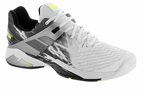 Babolat Propulse Fury All Court Men's Tennis ShoeWhite/Black (11.0)