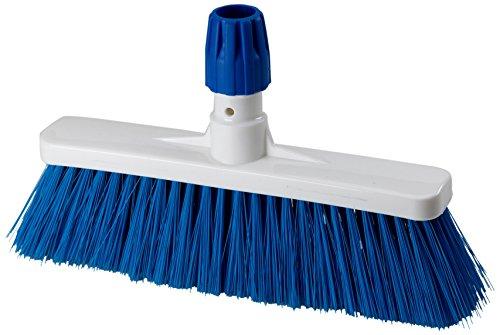Aricasa Professional Hygiene Broom, Blue, Medium, 5 Count