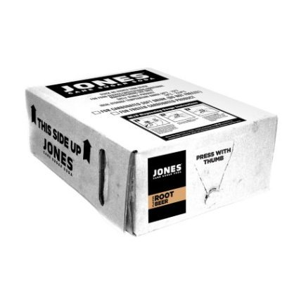 Jones Soda Bag-in-Box Fountain Syrup, Root Beer Flavor (3 gal.) by JS