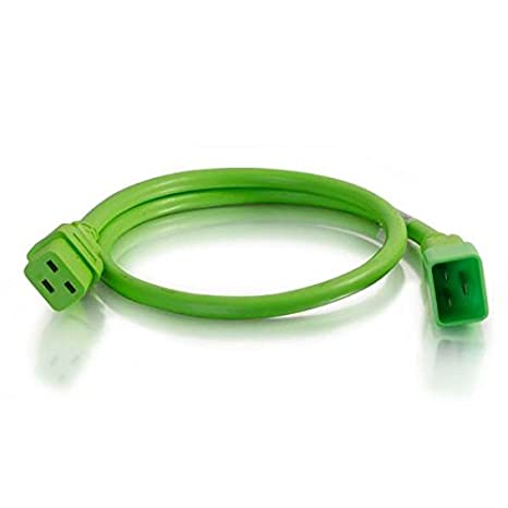 C2G 17748 C19-C20 Power Extension 12awg 8ft Yellow