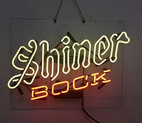 Shiner Bock Neon Sign Beer Bar Pub Store Party Room Wall Windows Display Neon Light 19x15