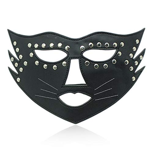 ouflage Goggles Adult Couples Flirting Role-Playing Game Leather Goods and Toys mask ()