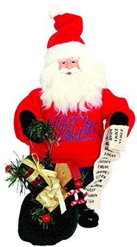 Ole Miss Rebels Santa (10