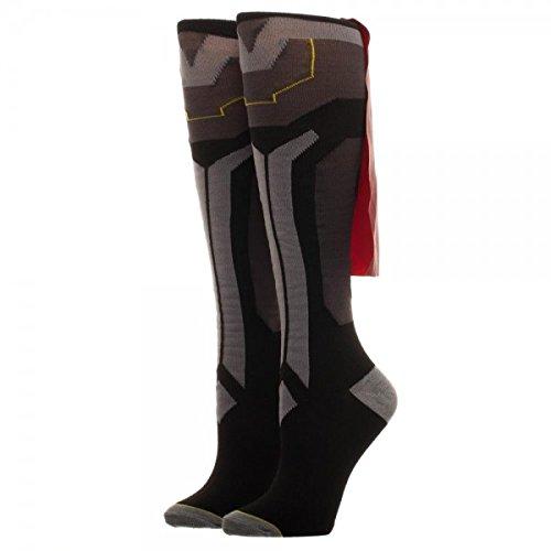 Thor Mens Socks (Thor Ragnarok Costume Caped Knee High Socks)